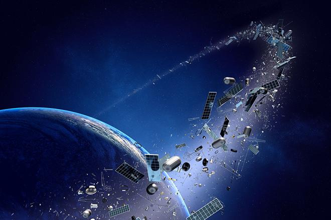 Ученые «расстреляют» космический мусор излазера