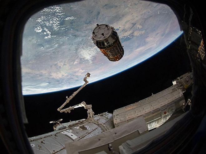 МКС успешно захватила модуль «Конотори-5»