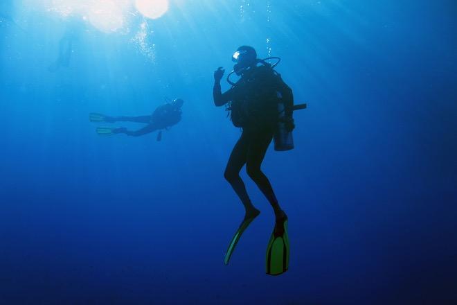 Картинки по запросу аквалангисты