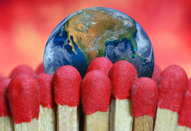 Глобальное потепление вСеверном полушарии перешло «красную черту»