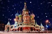 Погода вМоскве наКрещение : вместо морозов— метель