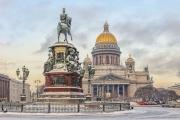 Погода в Санкт-Петербурге: возвращается зима