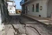 В Италии оползень угрожает деревне