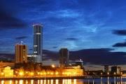 Над Екатеринбургом появились серебристые облака