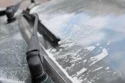 В двух районах Омска выпала мелкая белая пудра