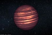 НАСА нашло на коричневых карликах атмосферные полосы и волны