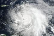 Тропический ураган «Мария» и его «горячие башни»: фото