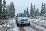 Погода на Южном Урале и в Зауралье: первый снежный буран в этом сезоне
