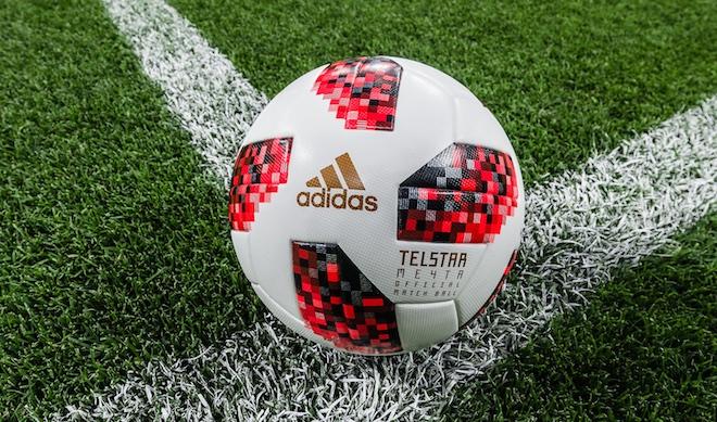 RU  Представлен официальный мяч этапа плей-офф ЧМ-2018 - 26 июня 2018   Чемпионат  мира по футболу — 2018   Новости погоды. 392202e50c8