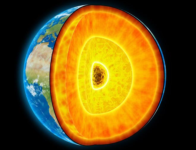 фото ядра земли