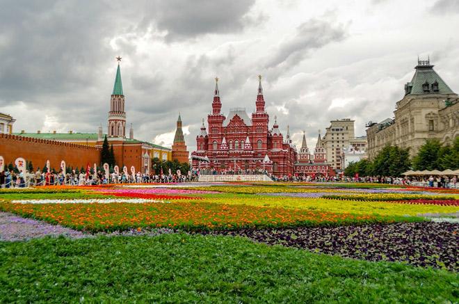 C 6 по 13 июля пройдет Moscow Flower Show